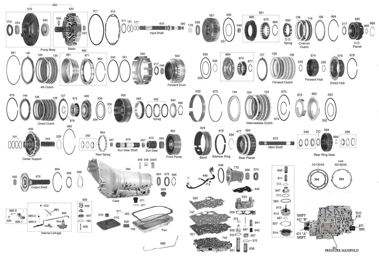 Turbo 400 Transmission Parts Diagram Wiring Diagram