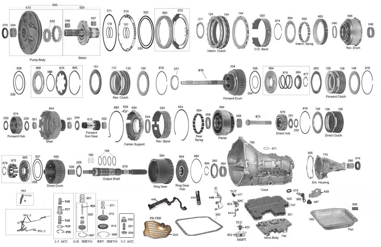 4r70w Transmission Parts Diagram List Of Schematic Circuit Enet Wire Vista Aod 4r70 Automatic Rh Vistatransmissionparts Com