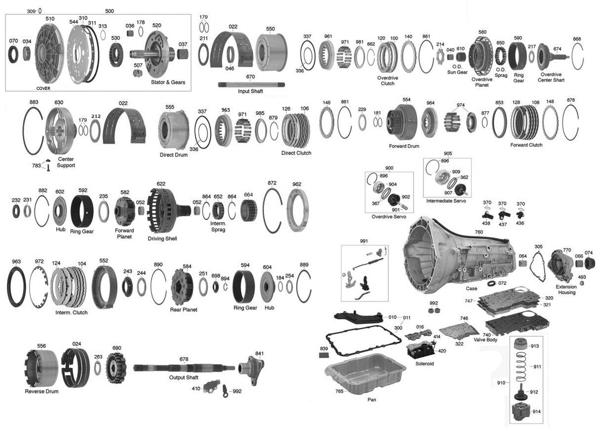 GASKET 5R55W//S VB LOWER 02-08