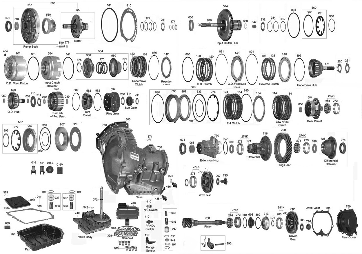 44re Transmission Plug Wiring Diagram Vista Parts Automatic 1249x876